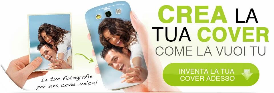 COME LO VUOI TU nuova cover personalizzata per il mio cellulare