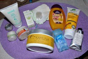 I miei prodotti per la cura quotidiana del viso e corpo - settembre - My products to daily face and body care - september