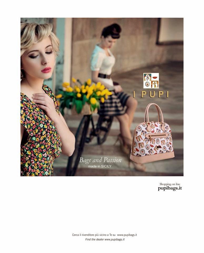 I PUPI, borse e degli accessori 100% made in Italy, chic, eleganza e lo stile all'avanguardia esclusivamente siciliano