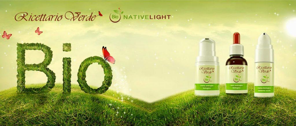 RICETTARIO VERDE i primi cosmetici biologici che sfruttano un innovativo concetto di luminescenza