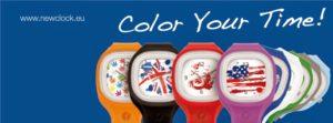 NEW CLOCK - REGALA UN SORRISO, compra l'orologio solidale