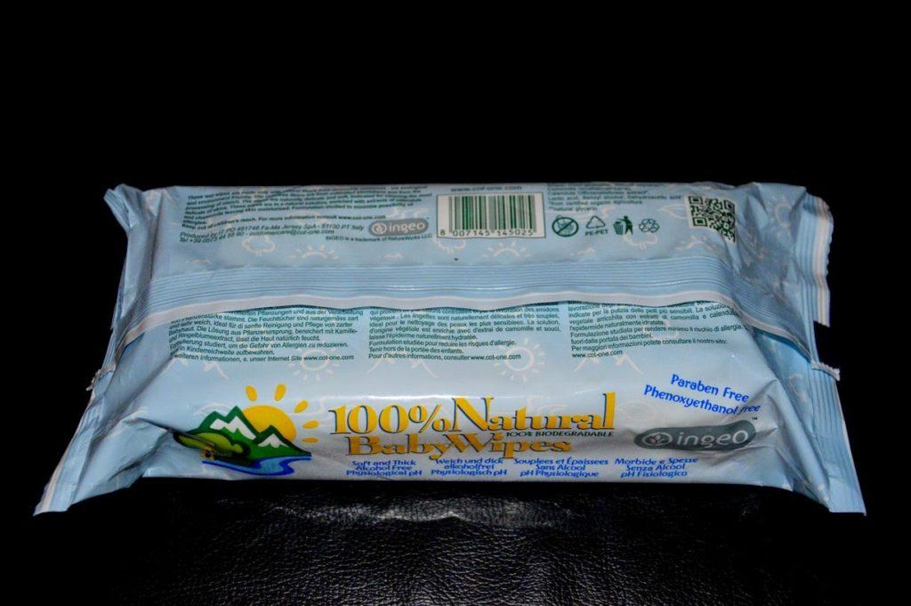 100% Natural Baby Wipes - Le salviettine senza parabeni da I PICCOLISSIMI  100% Natural Baby Wipes - Le salviettine senza parabeni da I PICCOLISSIMI