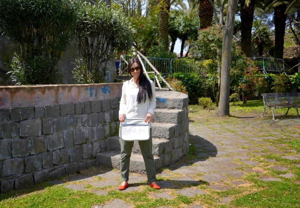 Outfit of the day con la borsa antifurto BACO DA SETA IDEAS - OOTD with antitheft system bag BDS