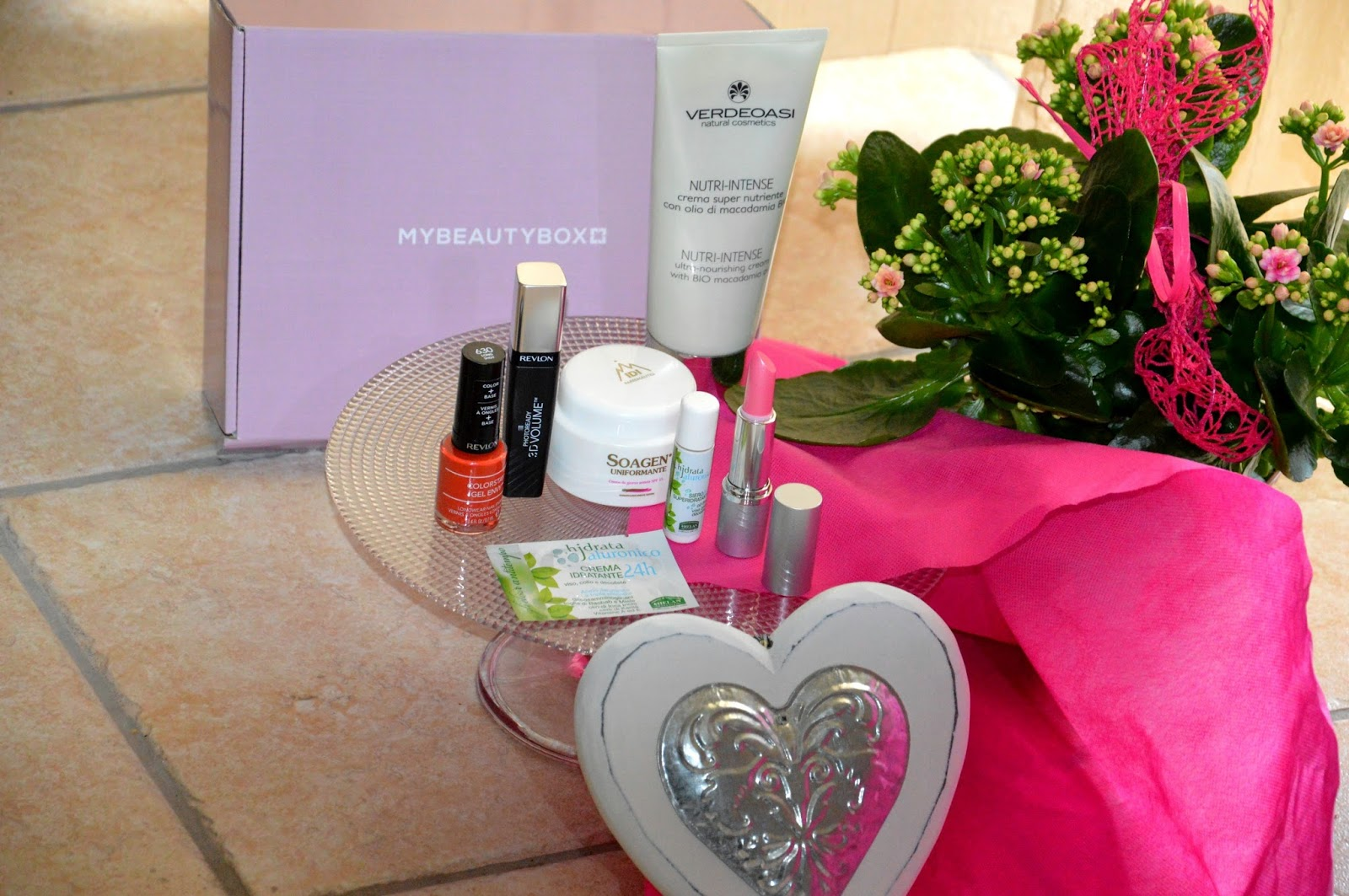 Beauty time: Mybeautybox la mia box di marzo preview
