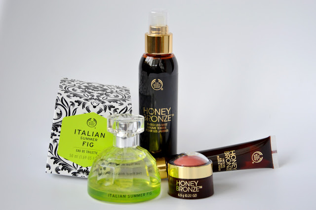 Beauty time: Tra profumi e colori - Italian Summer Fig e Honey Bronze THE BODY SHOP