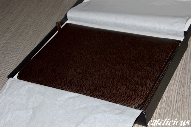 Accessori d'avanguardia per gli uomini - Porta documenti in vera pelle MARUSE