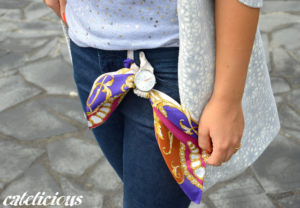 Torr Como foulard watch by Free Your Time