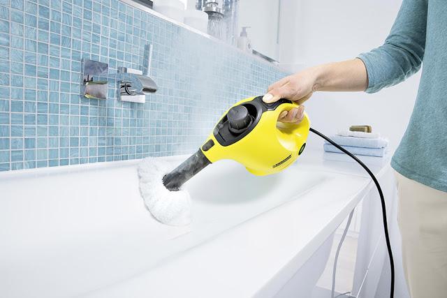 Nuovo kit Kaercher SC1 - la pulizia straordinaria con rispetto dell'ambiente garantita  Nuovo kit Kaercher SC1 - la pulizia straordinaria con rispetto dell'ambiente garantita  Nuovo kit Kaercher SC1 - la pulizia straordinaria con rispetto dell'ambiente garantita
