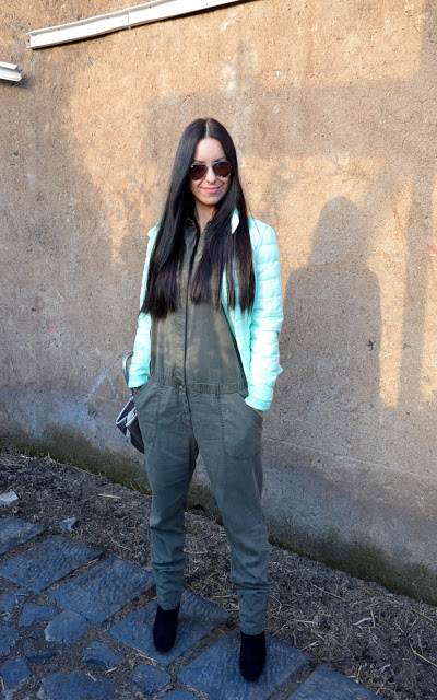 Military style, mud colour jumpsuit - tuta color fango  Military style, mud colour jumpsuit - tuta color fango  Military style, mud colour jumpsuit - tuta color fango  Military style, mud colour jumpsuit - tuta color fango
