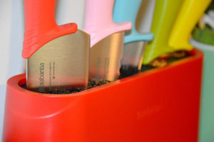 Home/Design: Brabantia Tasty Colours - Ceppo e coltelli nei colori gustosi