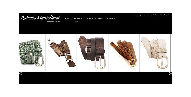 Roberto Mantellassi accessori artigianali in pelli esotiche
