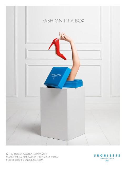 Regala la moda con la prima fashion gift card Snoblesse