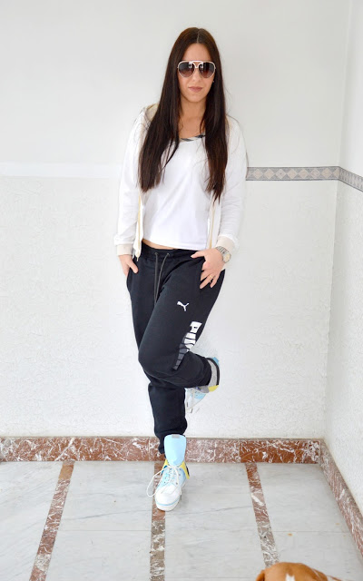 Il mio outfit casuale e sportivo  Il mio outfit casuale e sportivo  Il mio outfit casuale e sportivo