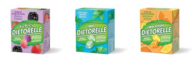 Dietorelle con estratto di Stevia  Dietorelle con estratto di Stevia
