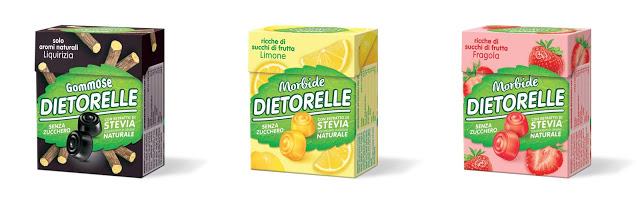Dietorelle con estratto di Stevia  Dietorelle con estratto di Stevia  Dietorelle con estratto di Stevia