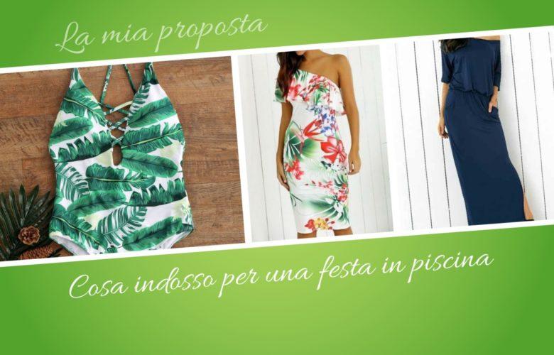 Cosa indossare per una festa in piscina - floral party dress