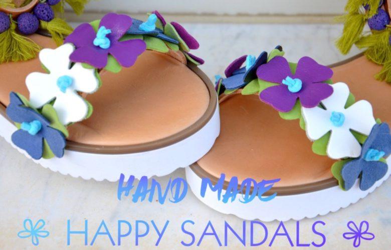 HAPPYsandals i miei nuovi sandali dalla piena di sole Grecia hand made