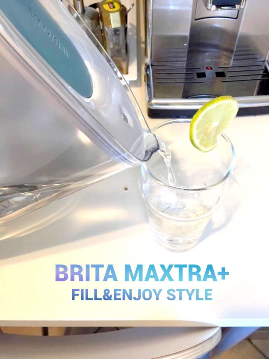 BRITA MAXTRA+ Fill&Enjoy Style, un acqua ancora più buona