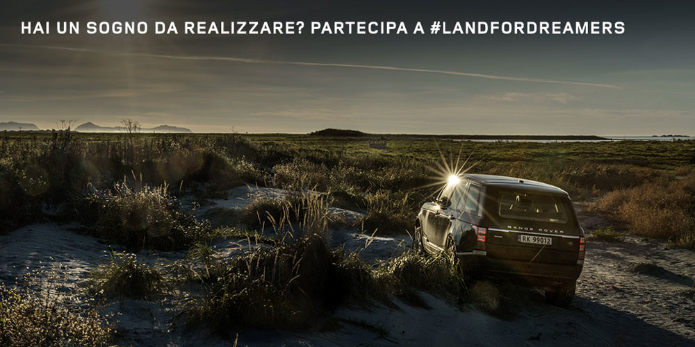 Contest Land For Dreamers Land Rover