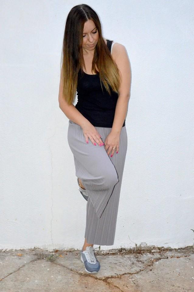 Cropped pants, baggy o pantaloni a palazzo lunghi fino al polpaccio Romwe