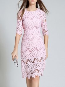 Abito bodycon rosa - pink bodycon dress