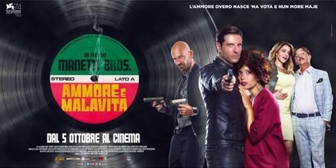 Ammore e Malavita, una commedia italiana al cinema dal 5 ottobre