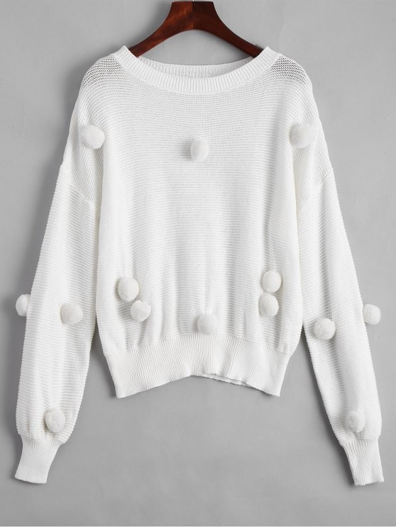 Zaful White sweater wishlist