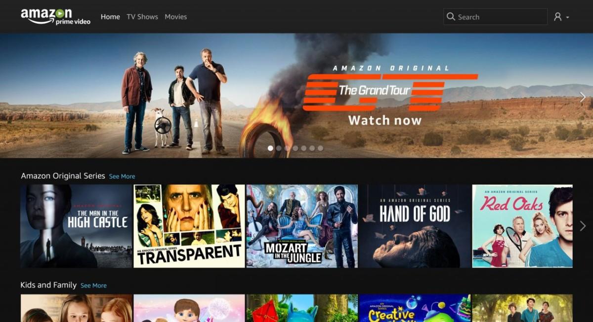 Amazon PRIME VIDEO guarda film e serie tv gratis